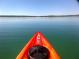 kayak on a lake