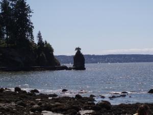 Siwash Rock Vancouver Seawall