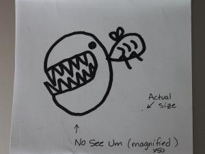 no-see-um drawing
