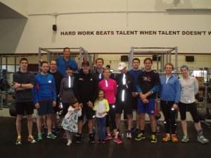 triathlon training day